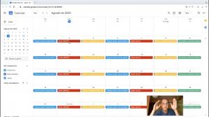 calendario stock